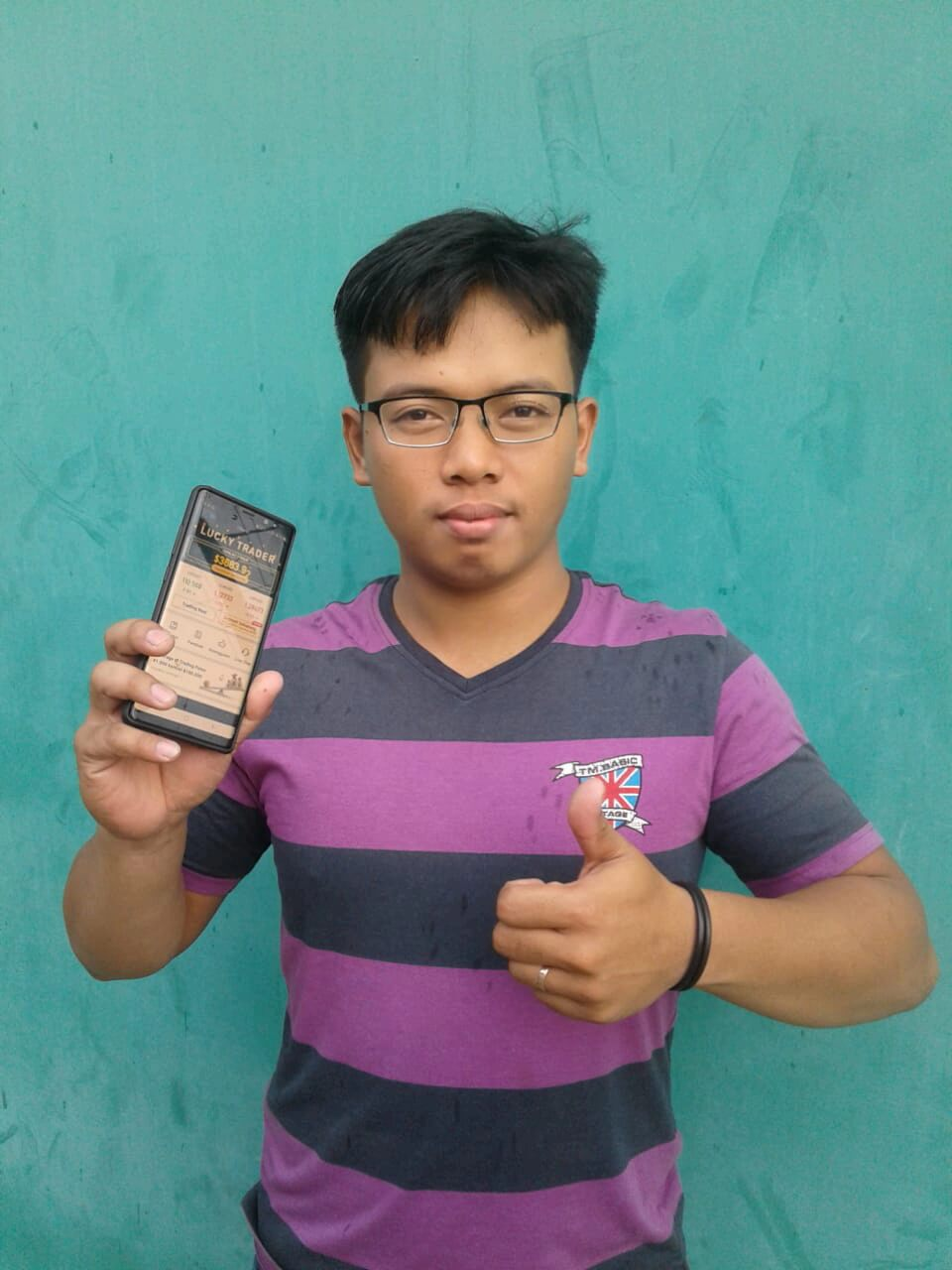 Doni Heilyn win Hanson Forex Lucky Draw 2