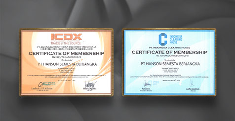 HSB Forex Certification of ICDX and ICH